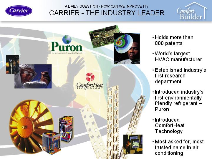 Carrier--The Industry Leader