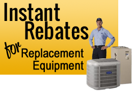 Get air conditioning and heating rebates on equipment installation with Colony Air Conditioning and Heating in Frisco TX