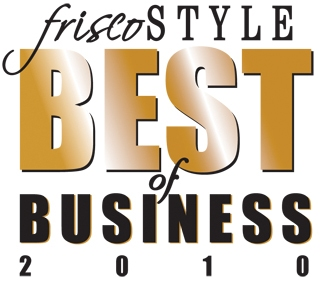 Best of Business Award Winner in Frisco TX