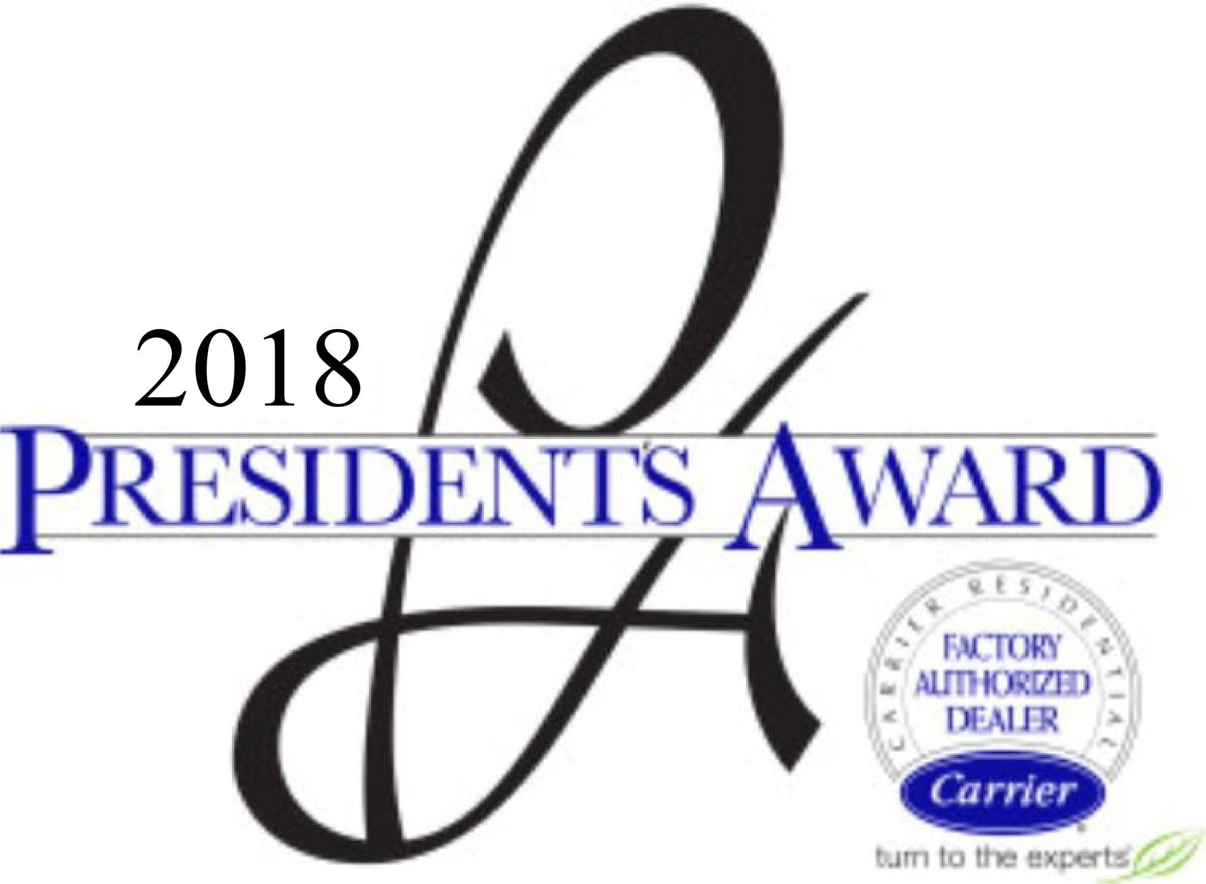 Carrier President's Award Winner