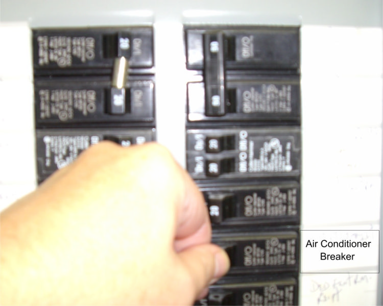 indoor breaker panel