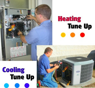 air conditioning and heating tune ups