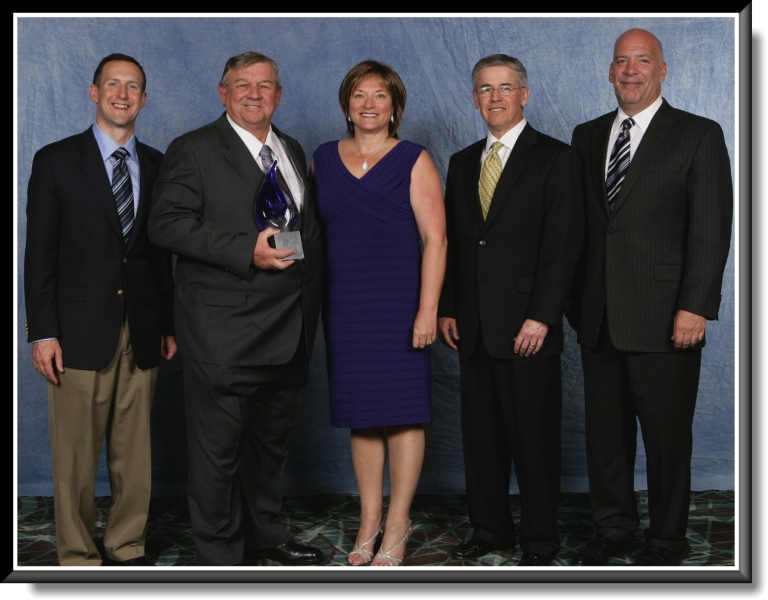 Colony Air Conditioning is awarded the prestigious President's Award from Carrier
