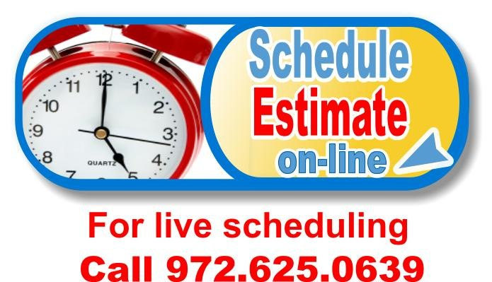 click to schedule heating and furnace estimates