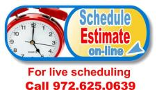 click to schedule heating system and furnace estimates